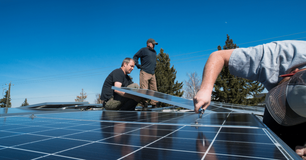 how to mount solar panels on a roof 2