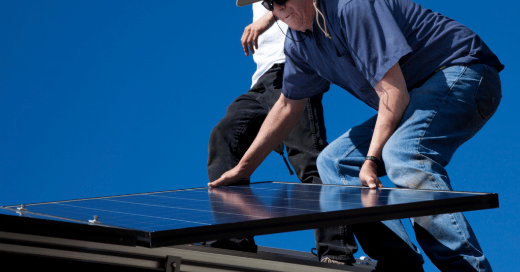 how to mount solar panels on a roof 6