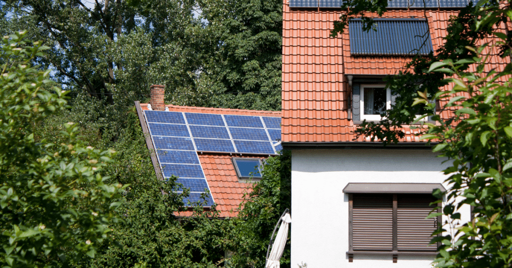 solar panels on a roof 3
